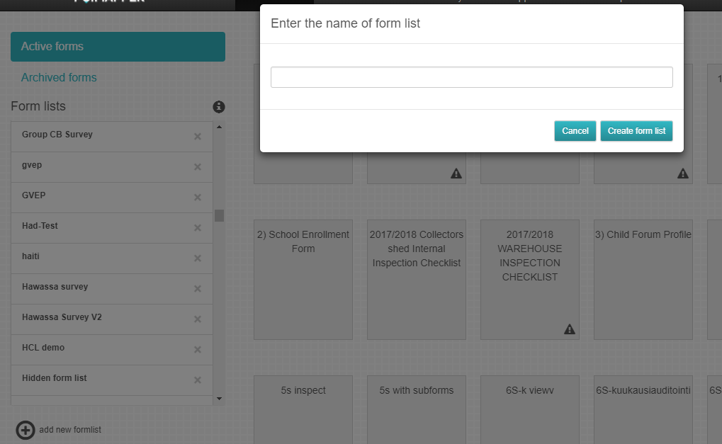 The Form Editor — Form Builder 4 5 2 documentation